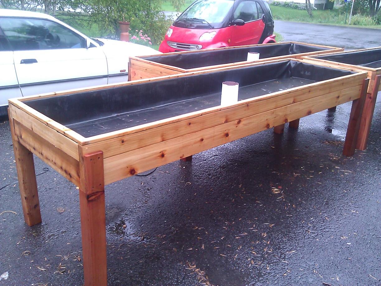 Table de culture serre for Acheter une balancelle de jardin